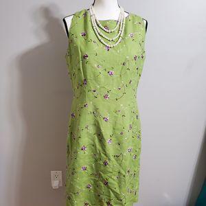 Jessica Howard Sleeveless Linen Dress